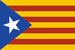 カタルーニャ独立運動の旗