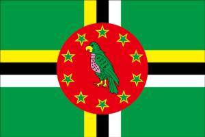 ドミニカの国旗