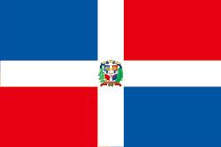 ドミニカ共和国の国旗