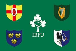 アイルランドのラグビーフットボール連合の旗(2019)