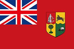 南アフリカ連邦の国旗1910-1912