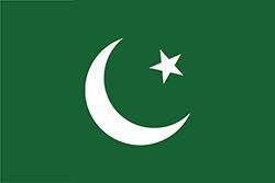 全インド・ムスリム連盟の旗