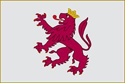 レオン王国の旗