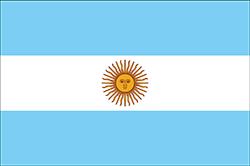 アルゼンチンの国旗
