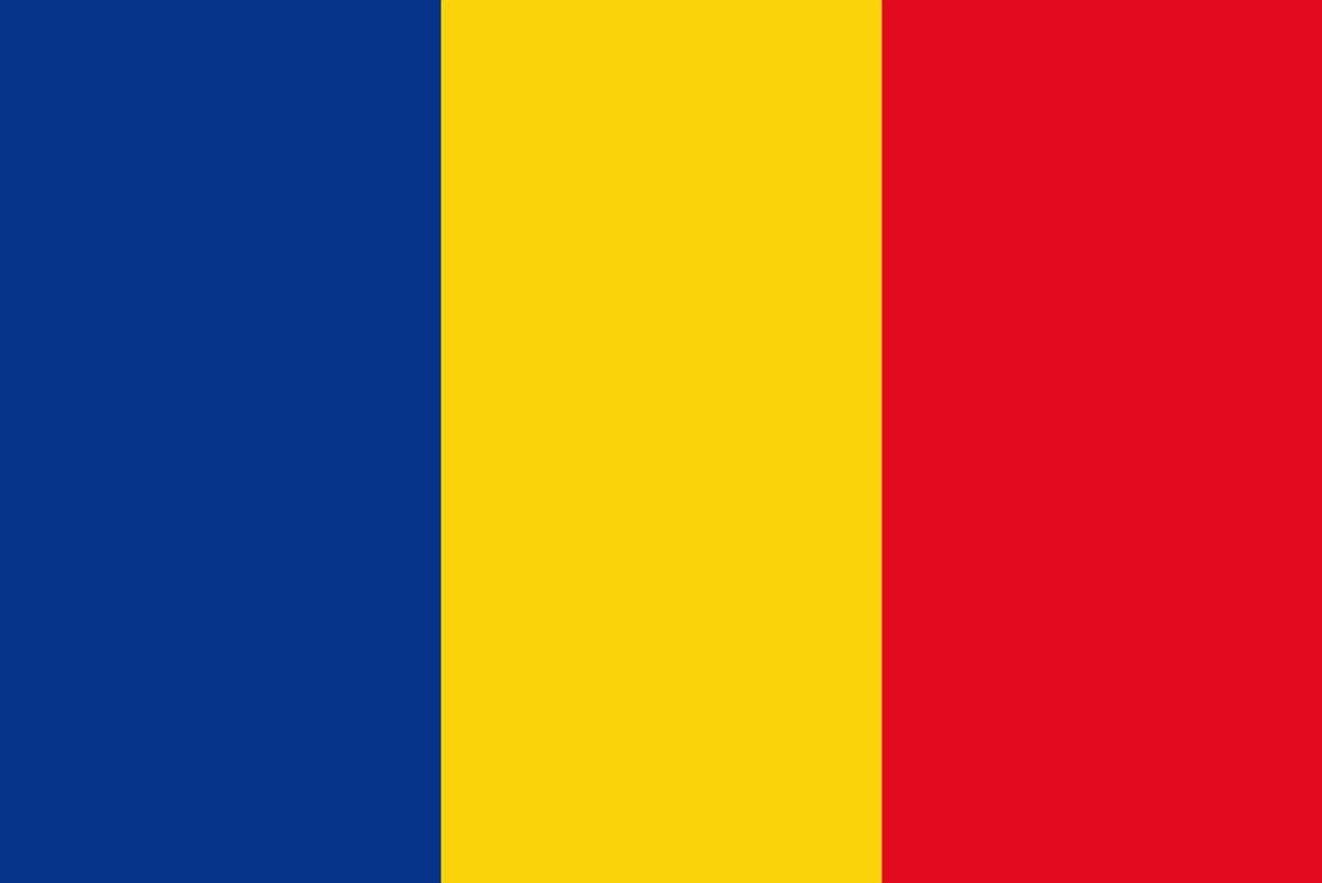 チャドの国旗