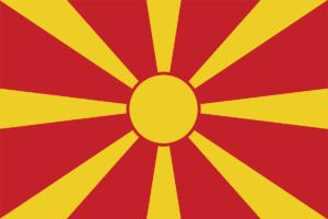 北マケドニアの国旗