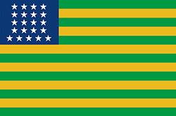 ブラジル合衆国の新国旗
