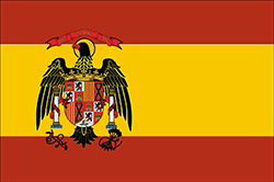 フアン・カルロス1世国王時代の国旗