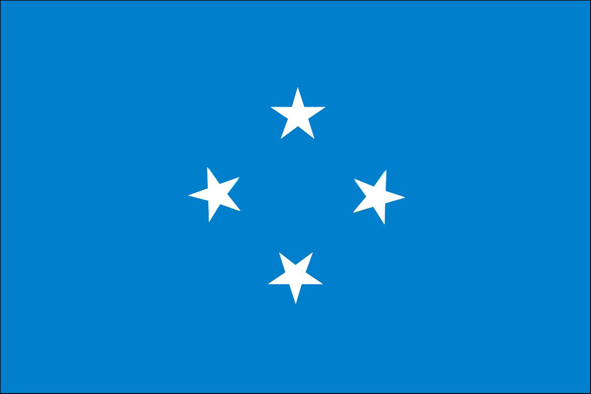 ミクロネシアの国旗