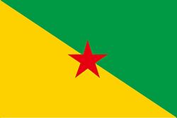 フランス領ギアナの旗