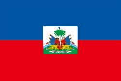 ハイチの国旗