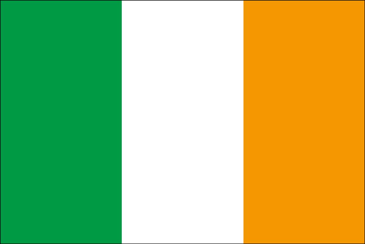 アイルランドの国旗 | 意味やイラストのフリー素材など – 世界の国旗 | 世界の国旗