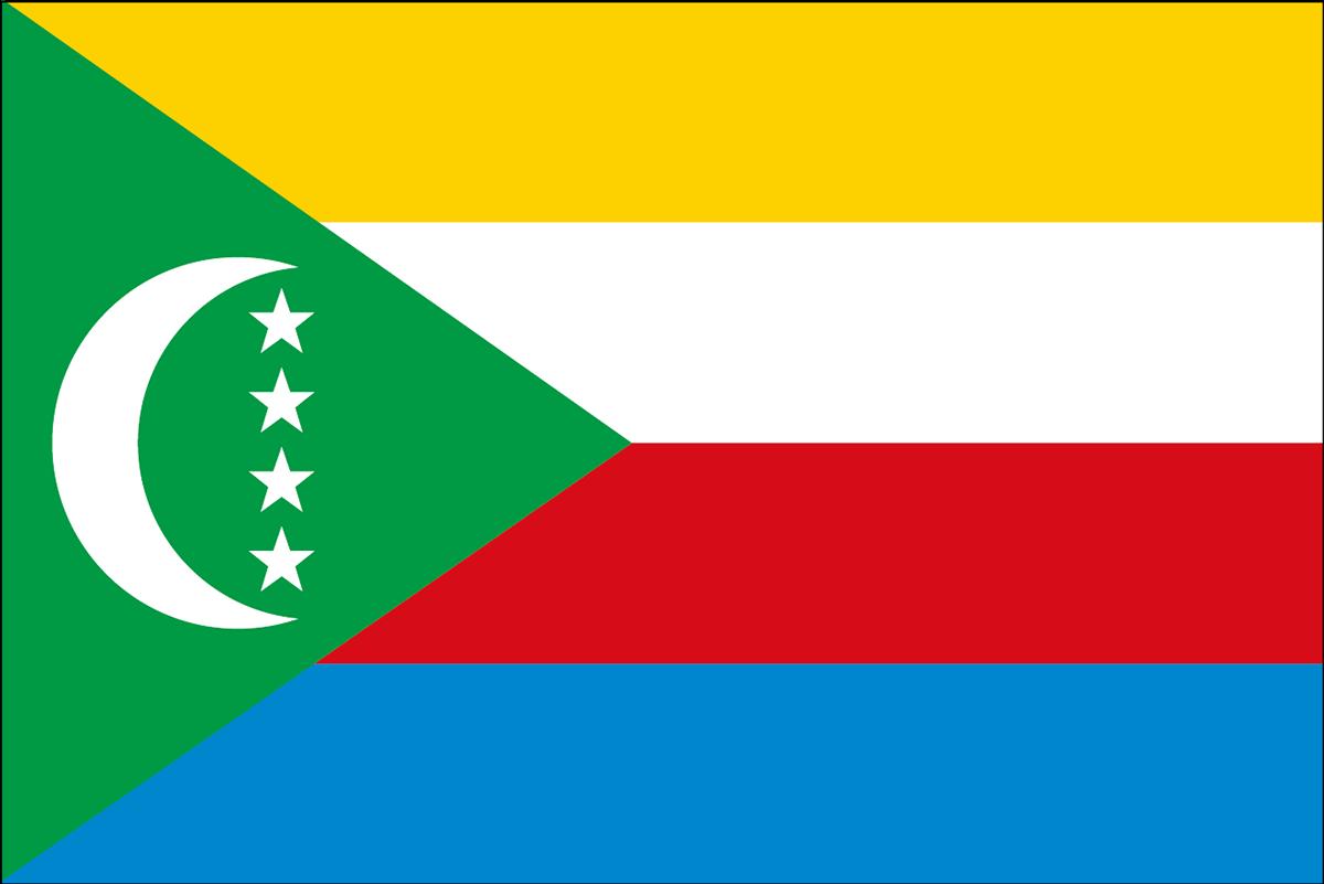 コモロ連合の国旗