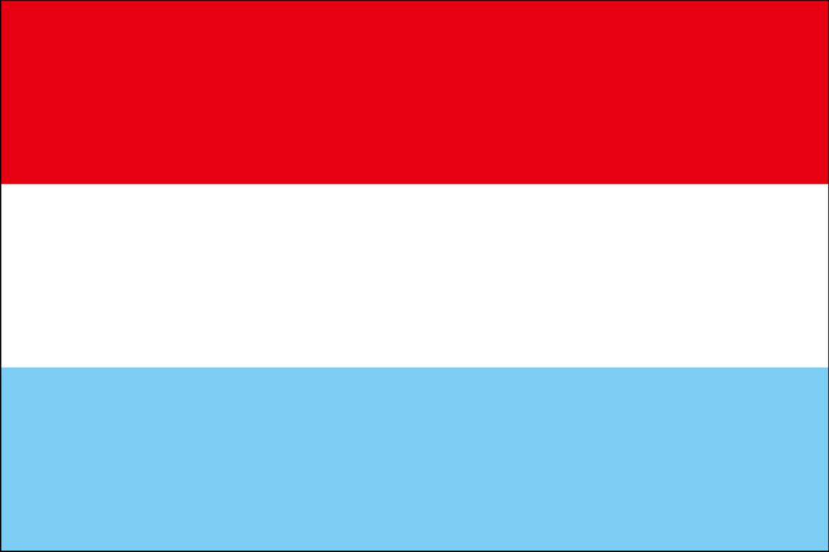 ルクセンブルクの国旗