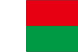 マダガスカルの国旗