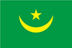 旧モーリタニア国旗