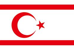 北キプロスの旗