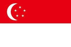 シンガポールの国旗