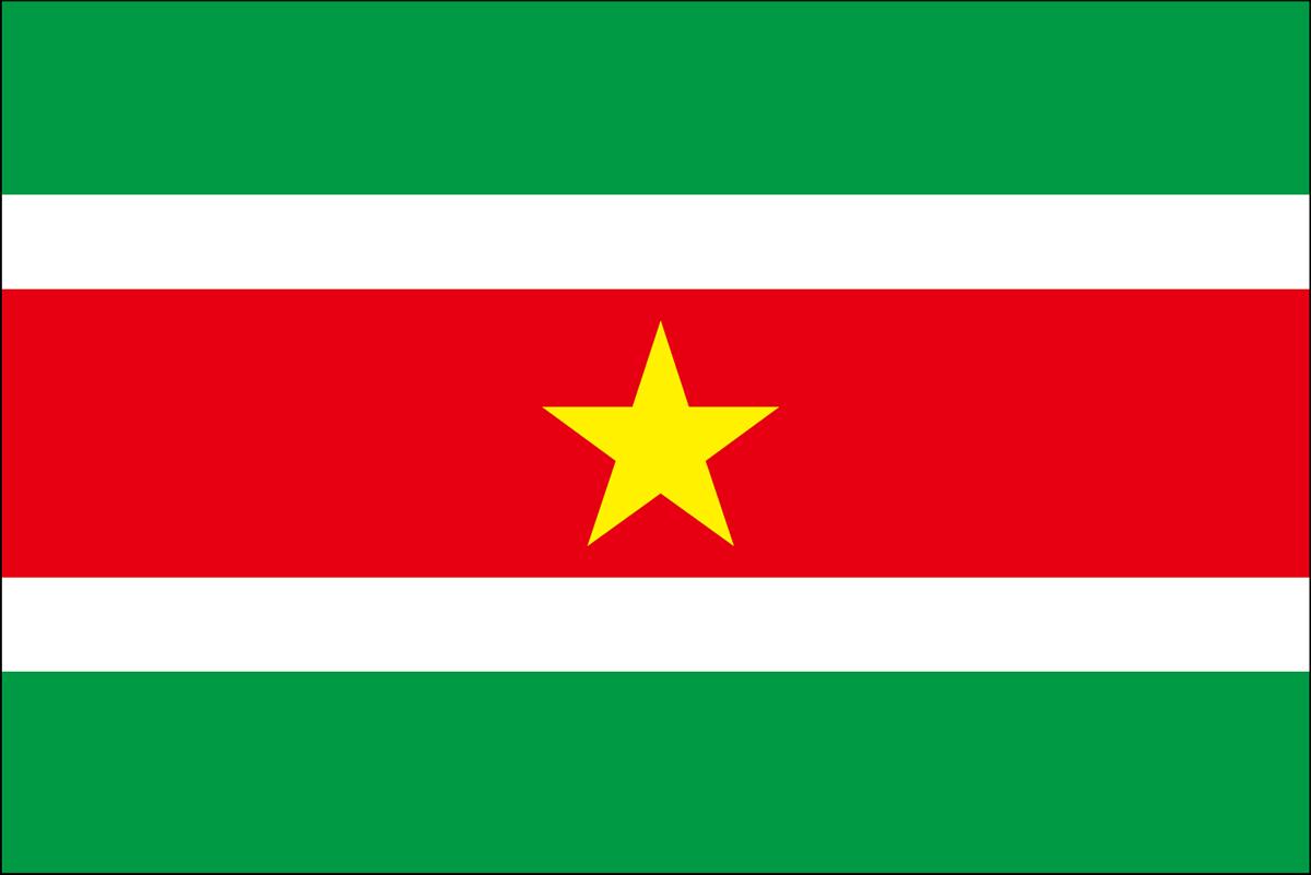 スリナムの国旗