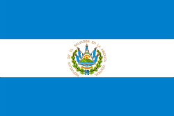 エルサルバドルの国旗