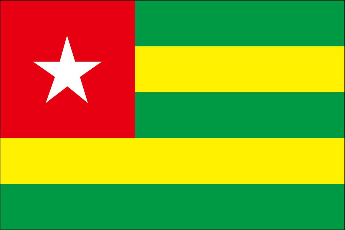 トーゴの国旗