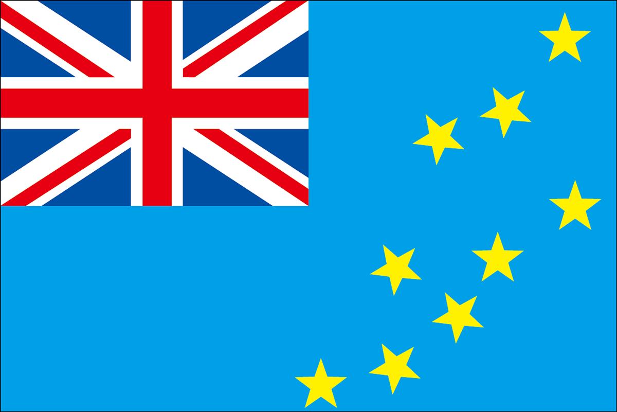ツバルの国旗