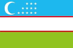 ウズベキスタンの国旗