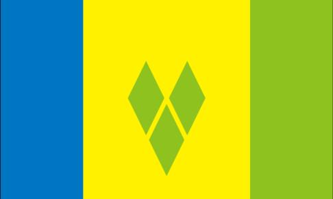 セントビンセントおよびグレナディーン諸島の国旗