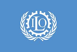 ILOの旗