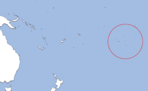 フランス領ポリネシアの地図
