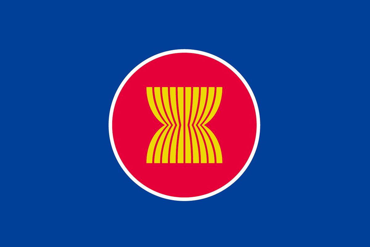 ASEAN(アセアン)の旗 | 意味やイラストのフリー素材など – 世界の ...