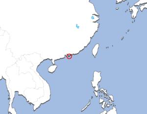 香港の地図