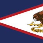 アメリカ領サモアの旗