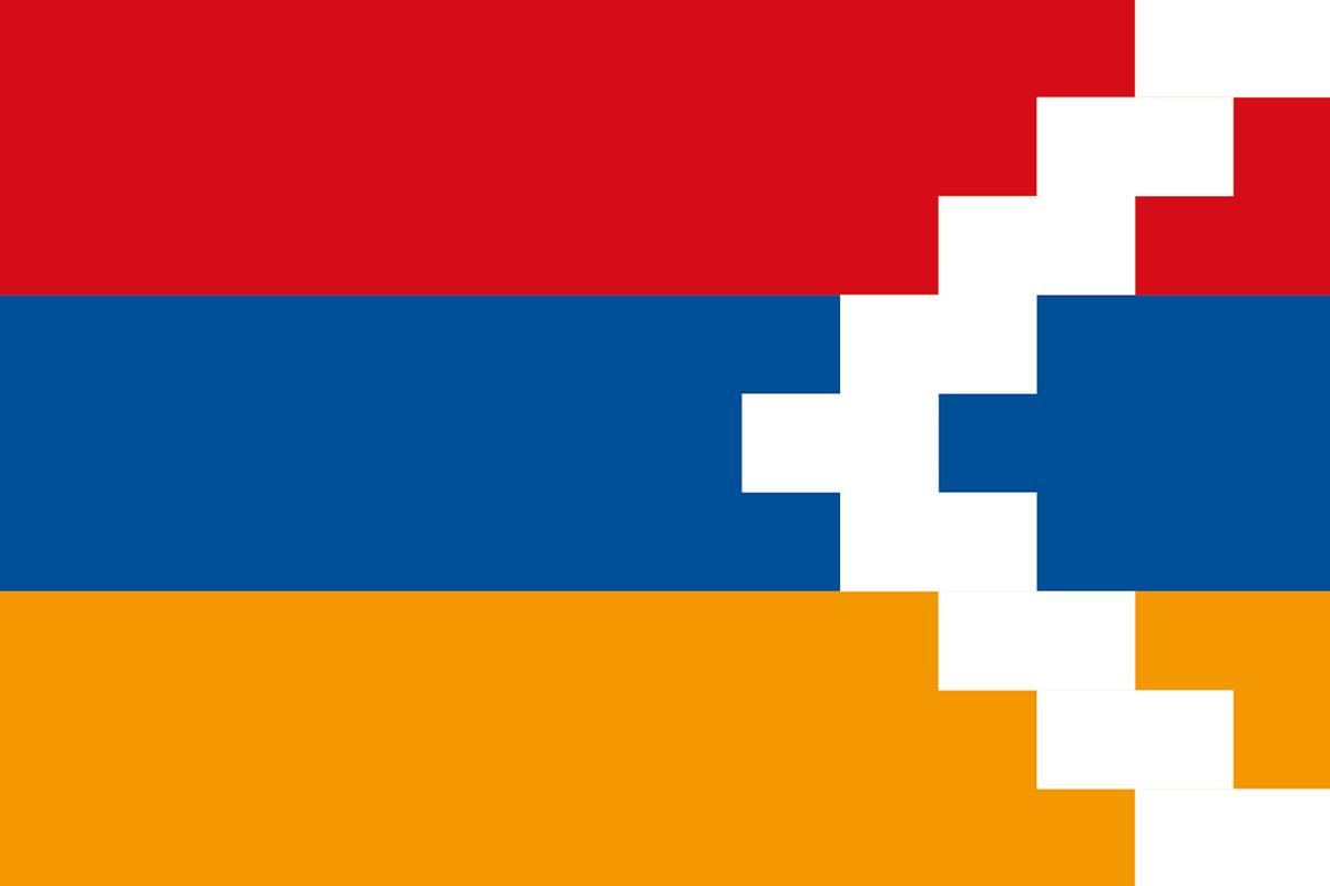 アルツァフ共和国の旗