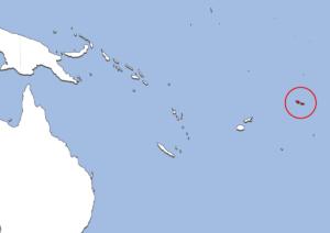 アメリカ領サモアの地図