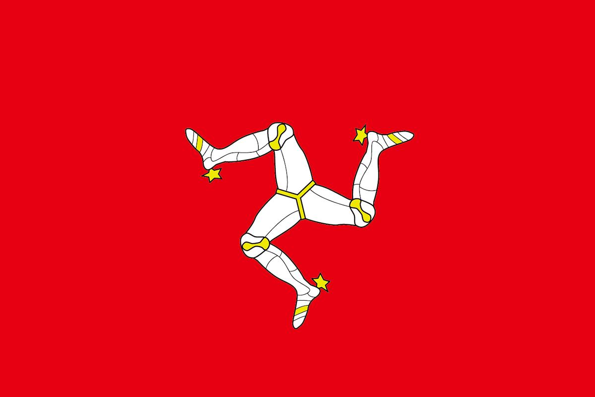 マン島の旗