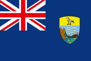 セントヘレナの旗