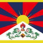 チベットの旗