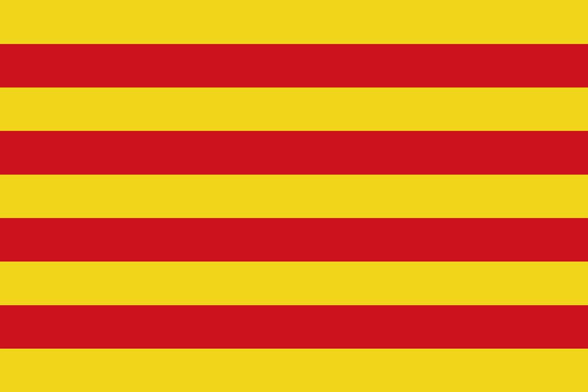 カタルーニャの旗
