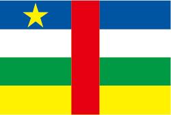 中央アフリカの国旗