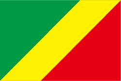 コンゴ共和国の国旗