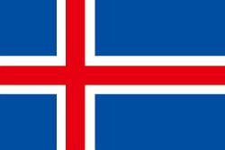 アイスランドの国旗