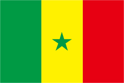 セネガルの国旗
