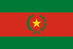 ボリビアの国旗-市民旗1825-1826