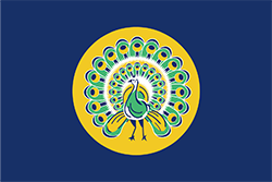 英領ビルマ時代の旗 (1941年- 1942年)