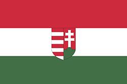 ハンガリーの国旗1918-1919