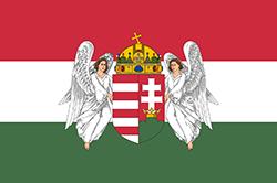 ハンガリーの国旗1867-1918