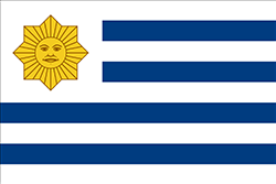 ウルグアイ国旗の変遷1836-1850