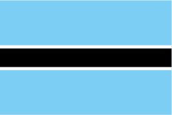 ボツワナの国旗
