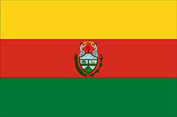 ボリビアの国旗-政府旗1826–1851